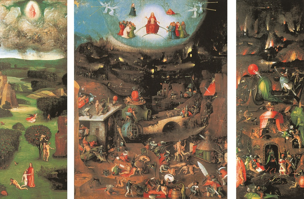 The Last Judgement, triptych, c. 1450-1516