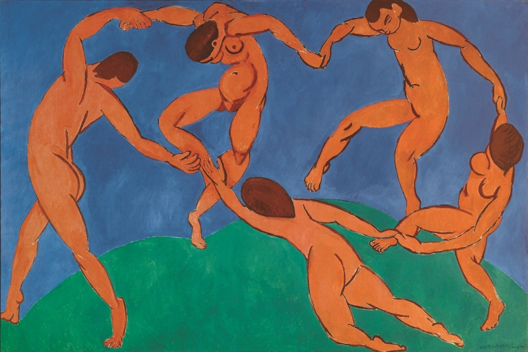 Henri Matisse, The Dance, 1909-1910. Oil on canvas, 260 x 391 cm. The State Hermitage Museum, Saint-Petersburg.