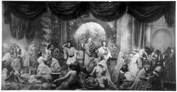 Oscar Gustav Reijlander, The two ways of life, 1857. 41 x 79 cm. Royal PhotographicSociety, Bath.