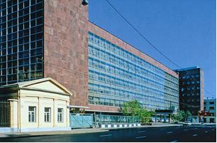 Le Corbusier, Tsentrosoyuz Building, 1929-1936. Moscow, Russia.