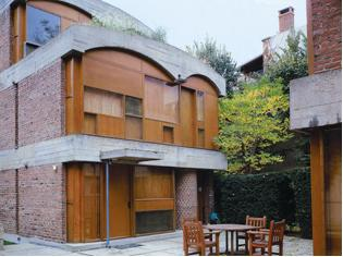 Le Corbusier, Jaoulhouses, 1954-1956. Neuilly-sur-Seine, France.