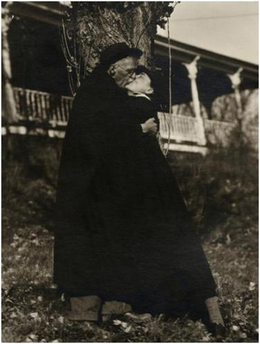 Alfred Stieglitz y Georgia O'Keeffe, 1929. Yale Collection of American Literature, New Haven, CT.