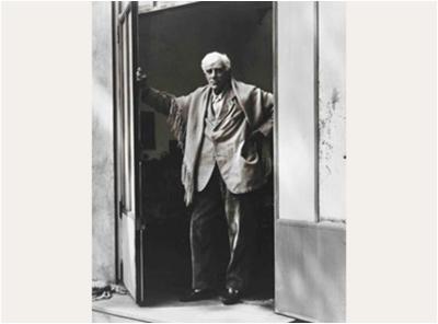 PAUL STRAND Georges Braque, Varengeville-sur-Mer, France, 1957. Philadelphia Museum of Art. Courtesy of The Phillips Collection, Washington, D.C.