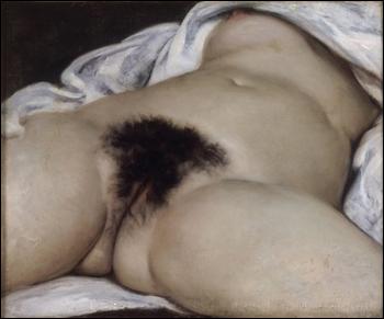 Gustave Courbet (1819-1877) L'origine du monde, 1866, Huile sur toile, H. 46 ; L. 55 cm, Paris, musée d'Orsay© RMN-Grand Palais (Musée d'Orsay) / Hervé Lewandowski.