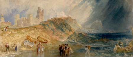 Joseph Mallord William Turner, Holy Island, Northumberland; Lindisfarne, c. 1829