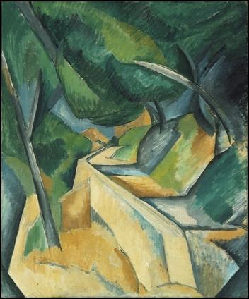 Camino cerca de L'Estaque (1908), de Georges Braque