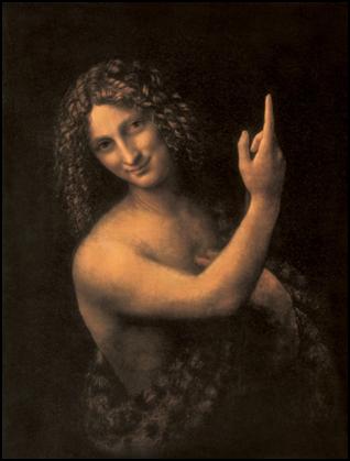 Leonardo da Vinci, St John the Baptist, 1513-1515. Oil on canvas, 69 x 57 cm. Musée du Louvre, Paris.