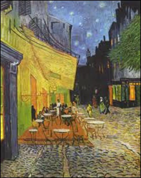 Vincent van Gogh, Café Terrace at Night, 1888. Oil on canvas, 80.7 x 65.3 cm. Kröller-Müller Museum, Otterlo.