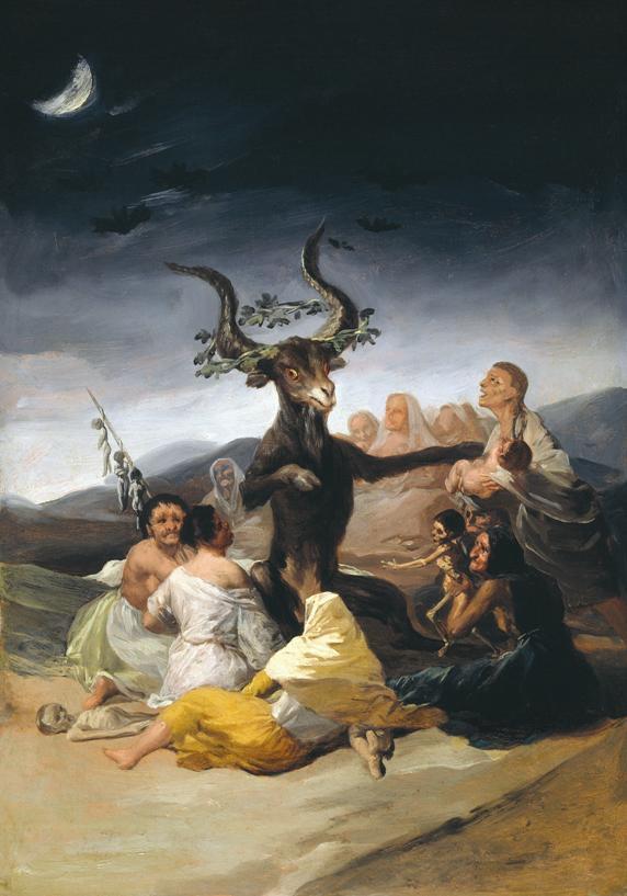Francisco de Goya, El aquelarre, 1797-1798.