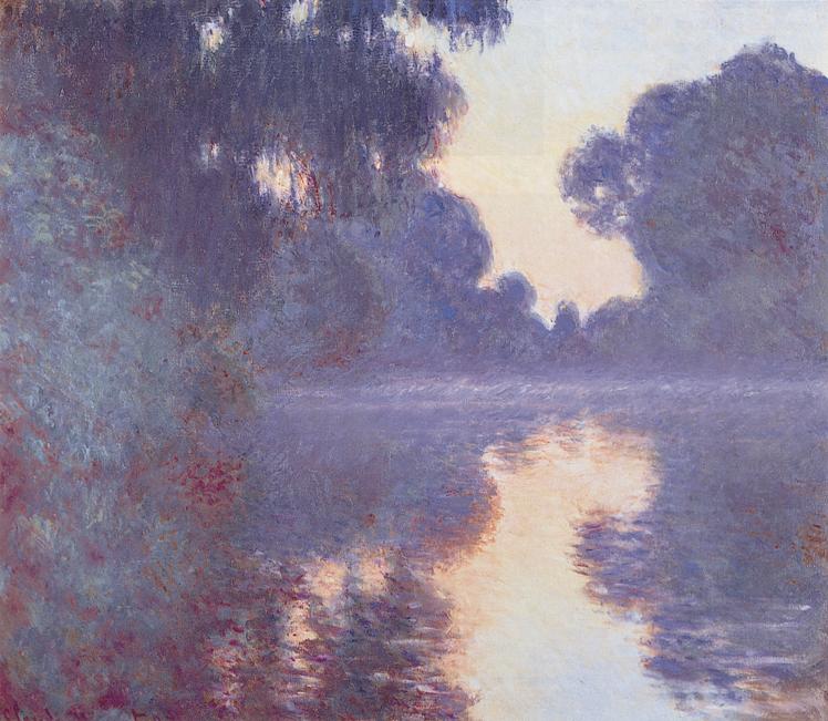 Claude Monet, Mañana en el Sena, 1897-1897.