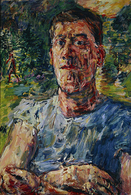Oskar Kokoschka, Self-Portrait as a Degenerate Artist, 1937. Oil on canvas, 110 x 85 cm. Scottish National Gallery of Modern Art, Edinburgh.