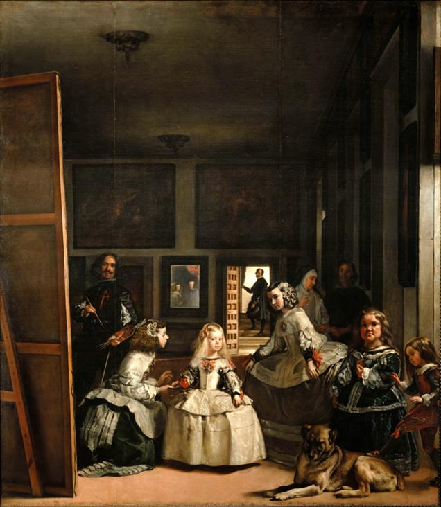 Velázquez, Las meninas, c. 1656. Museo Nacional del Prado, Madrid.