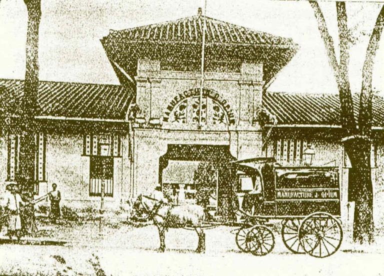 Manufacture de Saigon.
