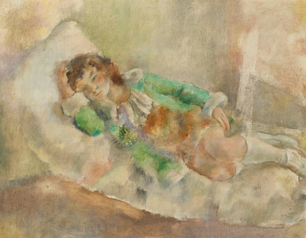 Jules Pascin, La pequeña actriz