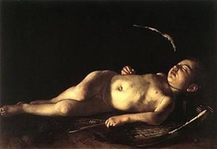 Sleeping Cupid (1608), Caravaggio