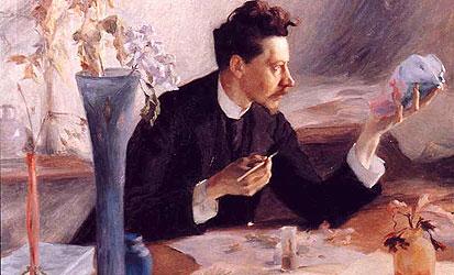 Victor Prouvé, Emile Gallé Oil on canvas, 1892 Musée d`Orsay, Paris