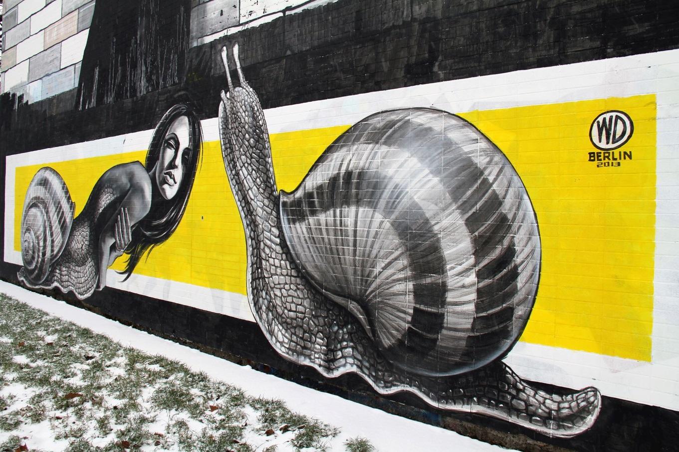WD Street Art, Bless, 2013. Berlin.