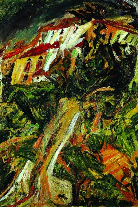 Landschaft in Südfrankreich, um 1920-1921. Öl auf Leinwand, 99,1 x 68,9 cm. Sammlung Claude Lelouch, Paris.