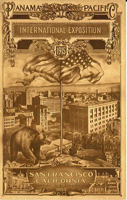 A postcard for the Panama Pacific International Exposition of 1915. (Photo: Library of Congress)