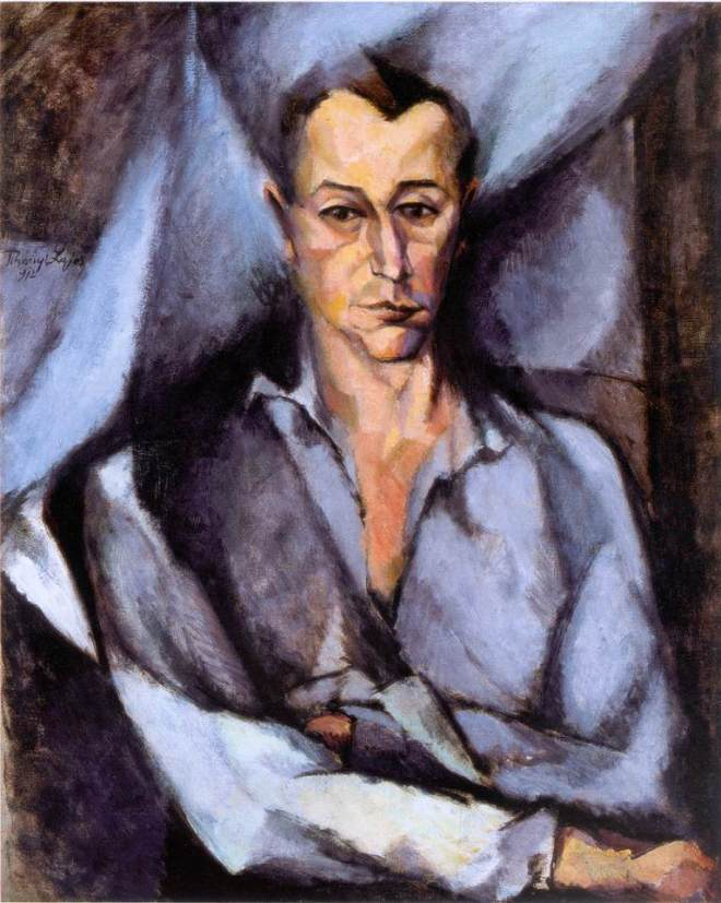 """Portrait of György Bölöni by Lajos Tihanyi in 1912, one of """"The Eight"""". (Photo: Public Domain/WikiCommons)"""