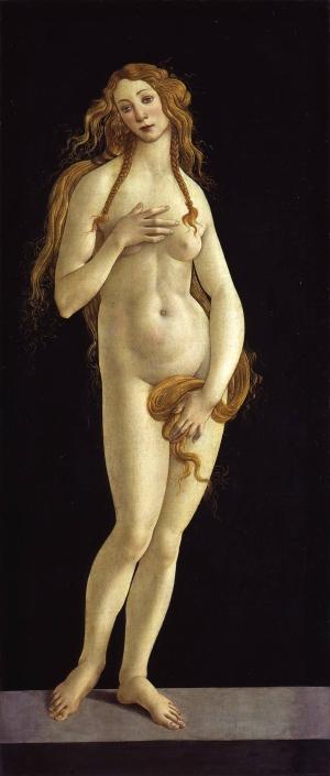 Venus, 1490. Tempera auf Leinwand. Gemäldegalerie der Staatlichen Museen zu Berlin.