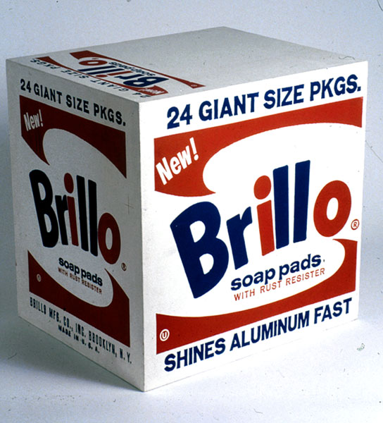 Brillo Boxes Andy Warhol, American, 1928 - 1987 © Andy Warhol Foundation for the Visual Arts / Artists Rights Society (ARS), New York
