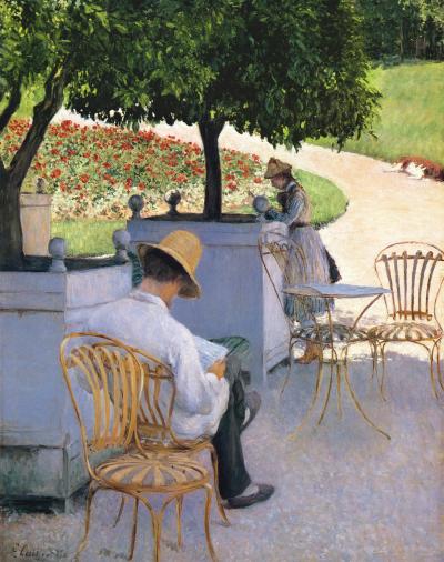 Naranjos (1878). Óleo sobre lienzo, 155 cm x 117 cm. Museum of Fine Arts, Houston.