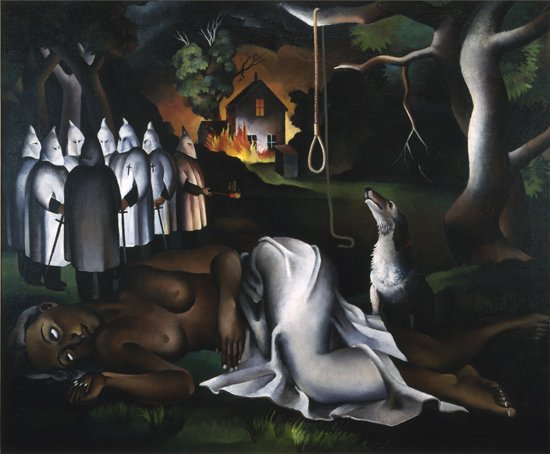Joe Jones, American Justice, 1933. Huile sur toile, 76,2 x 91,4 cm. The Art Institute of Chicago, Chicago.