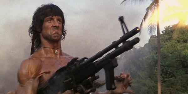 Erschießt gerne Leute: John Rambo.